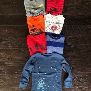 Boys long sleeve thermal t-shirts